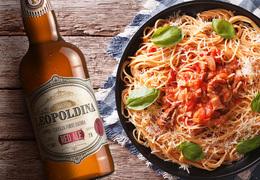 Receita do Mês: Espaguete com molho bacon e tomate