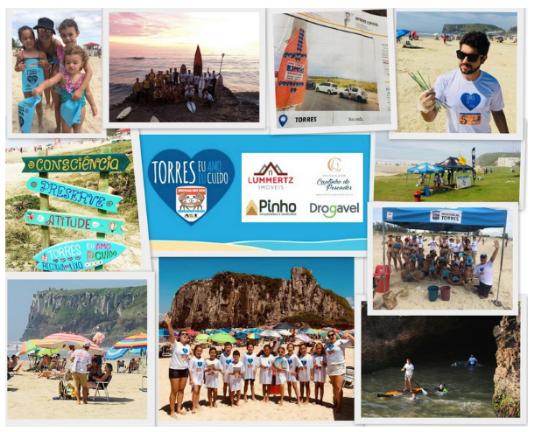 Facebook Projeto Praia Limpa