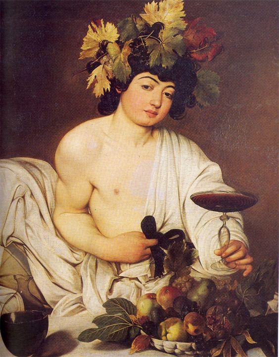 Baco, de Caravaggio