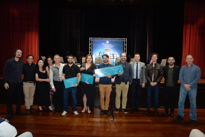 Gramado In Concert premia finalistas do concurso de jovens solistas