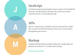 A revolução dos sites com JAMstack