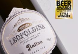 A Melhor Italian Grape Ale do Mundo é da Leopoldina!