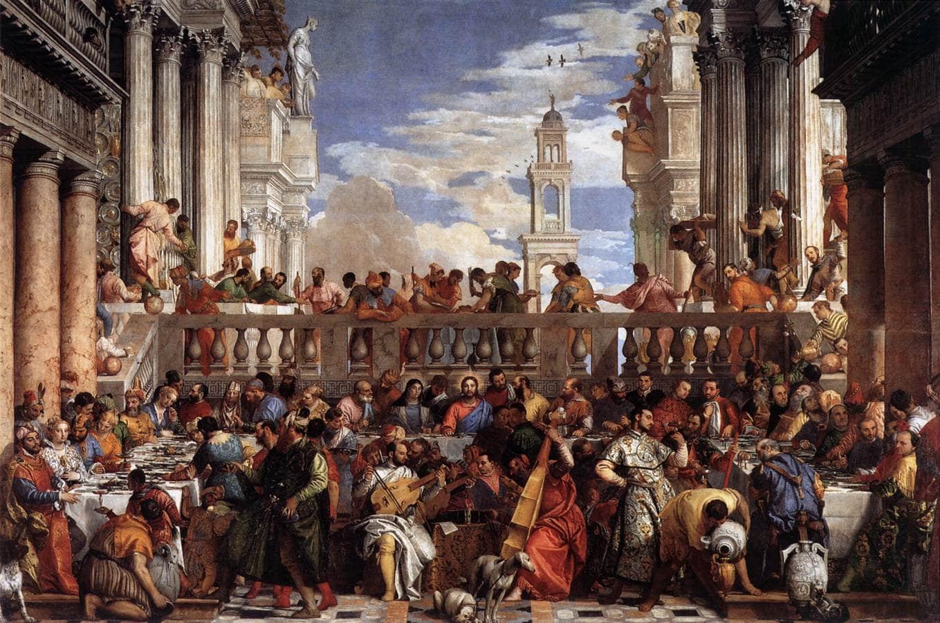 O casamento de Caná, de Paolo Veronese