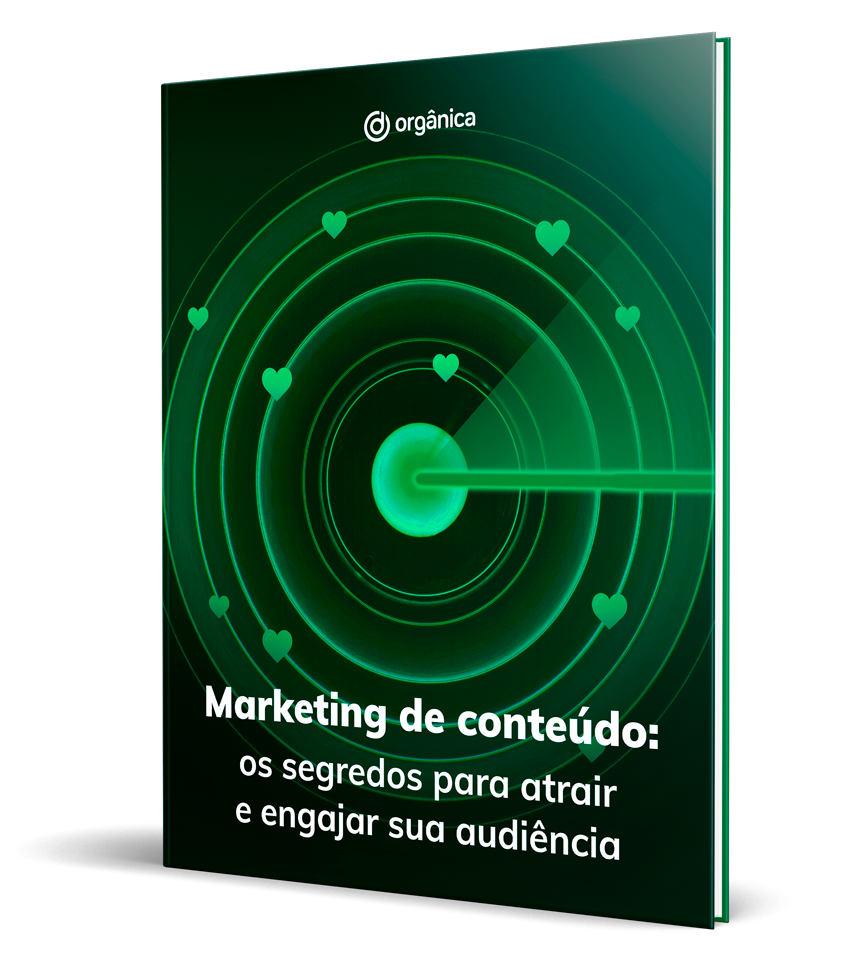 Capa do eBook Marketing de Conteúdo