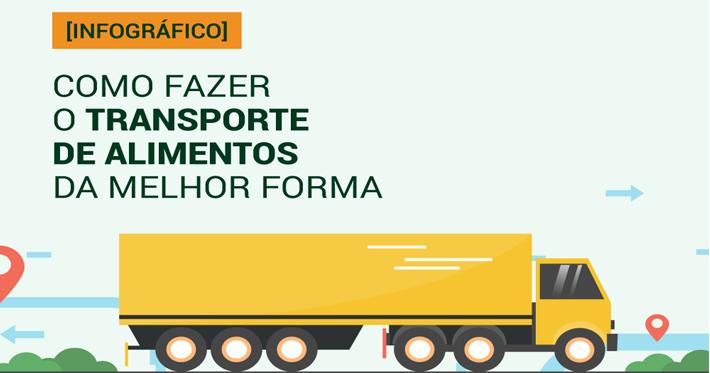 [Infográfico] Como fazer o transporte de alimentos da melhor forma