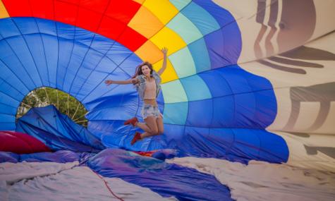 Laís Pinho! Piloto de Balão