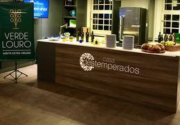 Degustação de Azeites Verde Louro na Casa Destemperados Porto Alegre