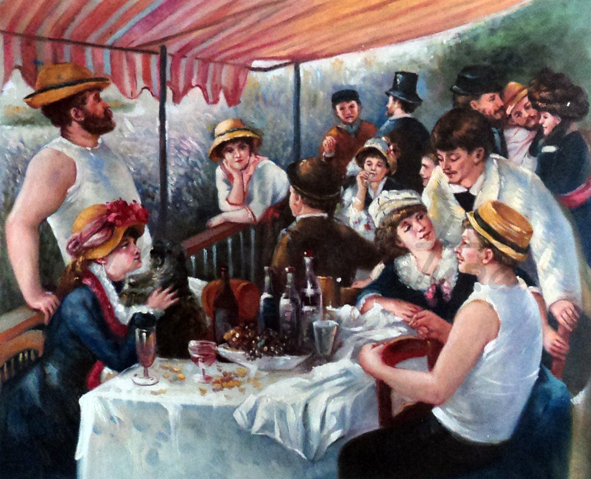 O Almoço dos barqueiros, de Auguste Renoir