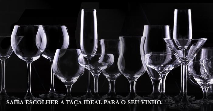 Saiba escolher a taça ideal para o seu vinho
