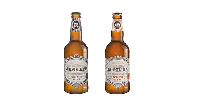 Cervejaria Leopoldina lança dois rótulos: Bohemian Pilsner e Session Pale Ale