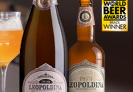 Leopoldina é medalha de ouro no World Beer Awards!
